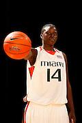 2007-08 University of Miami Women's Basketball Photo Day