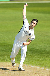 Tim Murtagh of Middlesex bowling - Mandatory by-line: Robbie Stephenson/JMP - 20/04/2018 - CRICKET - The 3aaa County Ground  - Derby, England - Derbyshire CCC v Middlesex CCC - Specsavers County Championship Division Two
