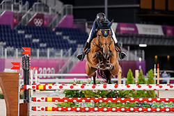 Baryard-Johnsson Malin, SWE, Indiana, 385<br /> Olympic Games Tokyo 2021<br /> © Hippo Foto - Stefan Lafrentz<br /> 06/08/2021