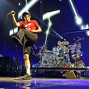 WASHINGTON, DC -  May 8th, 2012 - The Red Hot Chili Peppers perform at the Verizon Center in Washington, D.C. The band was inducted into the Rock N Roll Hall Of Fame earlier this year and released their 10th studio album, I'm With You, in late 2011. (Photo by Kyle Gustafson/For The Washington Post)