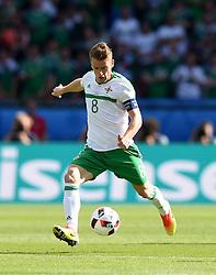 Steven Davis of Northern Ireland  - Mandatory by-line: Joe Meredith/JMP - 25/06/2016 - FOOTBALL - Parc des Princes - Paris, France - Wales v Northern Ireland - UEFA European Championship Round of 16