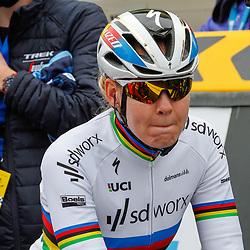04-04-2021: Wielrennen: Ronde van Vlaanderen (Vrouwen): Oudenaarde<br />Anna van der Breggen