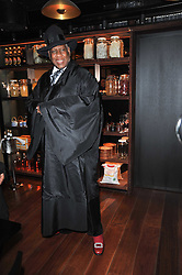 ANDRE LEON TALLEY at a dinner in honour of Andre Leon Talley and Manolo Blahnik held at The Spice Market restaurant at W London, Leicester Square, London on 14th March 2011.