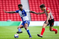 Mark Little of Bristol Rovers takes on George Dobson of Sunderland - Mandatory by-line: Robbie Stephenson/JMP - 12/09/2020 - FOOTBALL - Stadium of Light - Sunderland, England - Sunderland v Bristol Rovers - Sky Bet League One