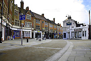 Kettering town centre redevlopments of Market street and the Market place