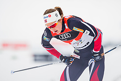 January 6, 2018 - Val Di Fiemme, ITALY - 180106 Ingvild Flugstad ¯stberg of Norway after the women's 10km mass start classic technique during Tour de Ski on January 6, 2018 in Val di Fiemme..Photo: Jon Olav Nesvold / BILDBYRN / kod JE / 160122 (Credit Image: © Jon Olav Nesvold/Bildbyran via ZUMA Wire)