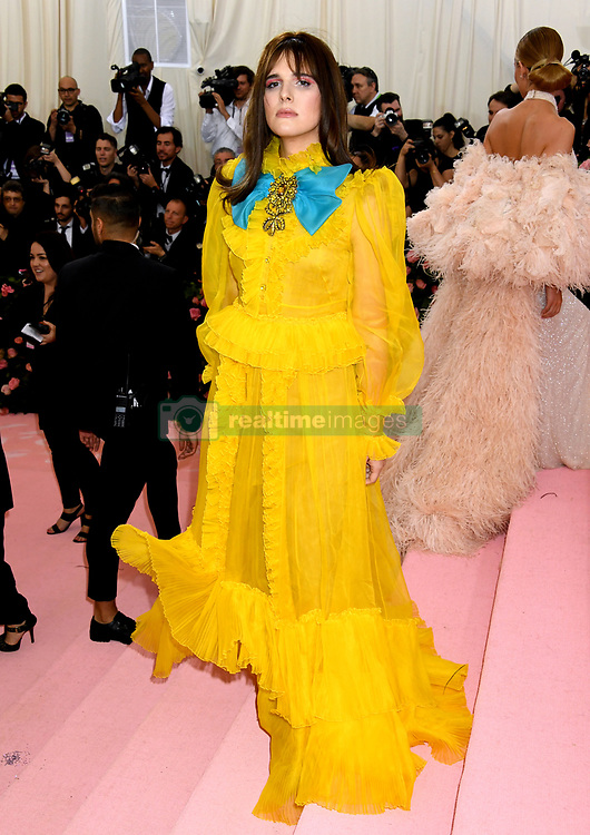Hari Nef attending the Metropolitan Museum of Art Costume Institute Benefit Gala 2019 in New York, USA.