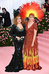 """Photo by: Doug Peters/starmaxinc.com<br />STAR MAX<br />©2019<br />ALL RIGHTS RESERVED<br />Telephone/Fax: (212) 995-1196<br />5/6/19<br />Better Midler and daughter Sophie Von Haselberg at the 2019 Costume Institute Benefit Gala celebrating the opening of """"Camp: Notes on Fashion"""".<br />(The Metropolitan Museum of Art, NYC)"""