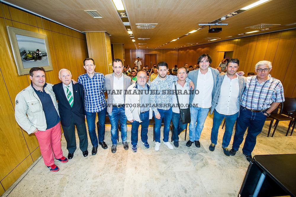 05-06-2016 Santander<br /> Federacion Cantaba de Futbol<br /> charla de entrenadores manolo preciados <br /> Alfredo relaño <br /> <br /> Fotos: Juan Manuel Serrano Arce