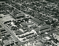 1927 Aerial view of Warner Bros. Studio on Sunset Blvd.