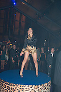 SOFIA HAYAT, Dinner and party  to celebrate the launch of the new Cavalli Store at the Battersea Power station. London. 17 September 2011. <br /> <br />  , -DO NOT ARCHIVE-© Copyright Photograph by Dafydd Jones. 248 Clapham Rd. London SW9 0PZ. Tel 0207 820 0771. www.dafjones.com.