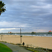 Huntington Beach Pier in Huntington Beach, California