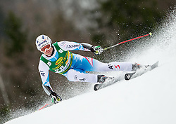 BAUMANN Romed of Austria competes during the 1st Run of 7th Men's Giant Slalom - Pokal Vitranc 2013 of FIS Alpine Ski World Cup 2012/2013, on March 9, 2013 in Vitranc, Kranjska Gora, Slovenia. (Photo By Vid Ponikvar / Sportida.com)