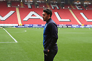 AFC Wimbledon defender Will Nightingale (5) on the pitch during the EFL Sky Bet League 1 match between Charlton Athletic and AFC Wimbledon at The Valley, London, England on 15 December 2018.