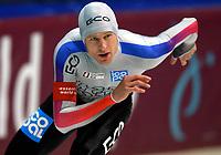 Skøyter: Verdenscup Heerenveen 13.01.2002. Stian Bjørge fra Norge.<br /><br />Foto: Ronald Hoogendoorn, Digitalsport