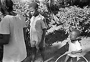 Barn på Trinidad.