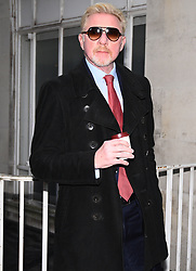 Boris Becker arrives at the Central Family Court in London, where the tennis star and his estranged wife Lilly are embroiled in a divorce dispute over money.