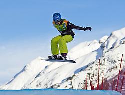 07.12.2010,AUT, Schlegelkopf, Lech am Arlberg, LG Snowboard, FIS Worldcup SBX, im Bild Maltais Dominique, CAN, #28, EXPA Pictures © 2010, PhotoCredit: EXPA/ P. Rinderer