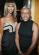 l to r: Iman and Bethann Hardison at The 3rd Annual Black Girls Rock Awards held at the Rose Building at Lincoln Center in New York City on November 2, 2008..BLACK GIRLS ROCK! Inc. is a 501 (c)(3) nonprofit, youth empowerment mentoring organization established for young women of color.  Proceeds from ticket sales will benefit BLACK GIRLS ROCK! Inc.?s mission to empower young women of color via the arts.  All contributions are tax deductible to the extent allowed by