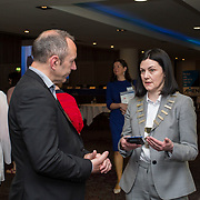23.05.2018.       <br /> Today, the Institute of Community Health Nursing (ICHN) hosted its2018 community nurseawards in association withHome Instead Senior Care,at its annual nursing conference, in the Strand Hotel Limerick, rewarding public health nurses for their dedication to community care across the country. <br /> <br /> Pictured at the event were, Alan O'Brien, Ontex and Anne Lynott, ICHN President. Picture: Alan Place