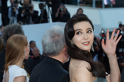 Fan Bingbing, Jessica Chastain and President of the jury Pedro Almodovar attending the Closing Ceremony during the 70th annual Cannes Film Festival held at the Palais Des Festivals in Cannes, France on May 28, 2017 as part of the 70th Cannes Film Festival. Photo by Nicolas Genin/ABACAPRESS.COM