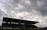Photo. Glyn Thomas,  Digitalsport<br />Wimbledon v Burnley. Nationwide Division 1.<br />National Hockey Stadium, Milton Keynes. 27/09/2003.<br />Storm clouds gather over Wimbledon's new home in Milton Keynes.