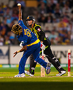 The Sri Lanka National Team takes on the Australian National Cricket Team at the storied Melbourne Cricket Ground (MCG) in Yarra Park located in Melbourne, Victoria, Australia in a T-50 match.
