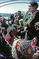Avec les pèlerins, Tibet 1986.