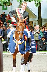 , Warendorf - Bundeschampionate 31.08. - 03.09.2000, Placido 39 - Möller, Ulf  Dr - ChampionatssiegerĀ