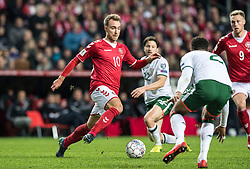 11 November 2017 Copenhagen : Denmark v Republic of Ireland :<br /> <br /> 11 November 2017 Copenhagen : Denmark v Republic of Ireland :<br /> <br /> [DK=20171111: Christian Eriksen, Danmark]<br /> [UK=20171111: Christian Eriksen, Danmark]
