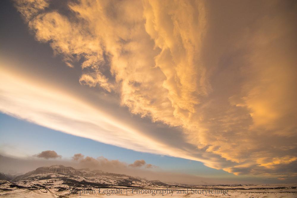Chinook, Rocky Mountain Front, Montana