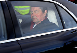 Vice Admiral Sir Tim Laurence arriving for the Queen's Christmas lunch at Buckingham Palace, London.