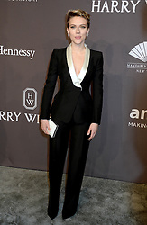 Scarlett Johansson at The19th Annual amfAR New York Gala, USA.