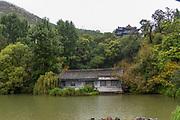 Black Dragon Pool in Lijiang, Yunnan Province, China