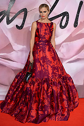 Laura Bailey attending The Fashion Awards 2016 at The Royal Albert Hall in London. <br /> <br /> Picture Credit Should Read: Doug Peters/ EMPICS Entertainment