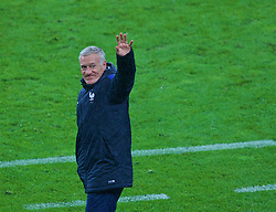 PARIS, FRANCE - Sunday, July 3, 2016: France's head coach Didier Deschamps celebrates his side's 5-2 victory over Iceland during the UEFA Euro 2016 Championship Semi-Final match at the Stade de France. (Pic by Paul Greenwood/Propaganda)