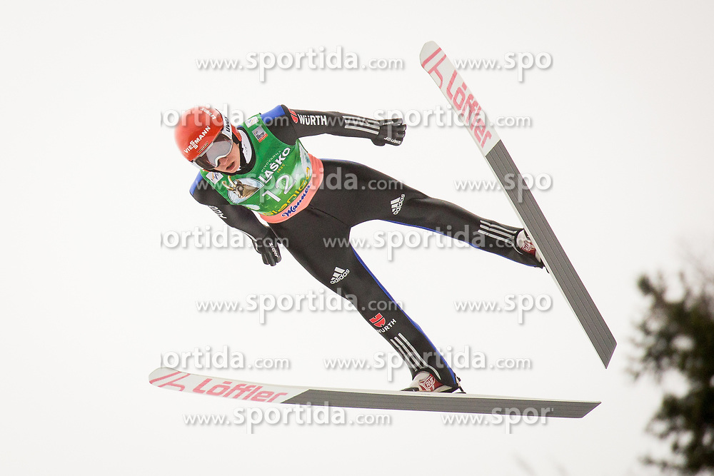 Karl Geiger (GER) during Ski Flying Hill Men's Individual Competition at Day 4 of FIS Ski Jumping World Cup Final 2017, on March 26, 2017 in Planica, Slovenia.Photo by Ziga Zupan / Sportida