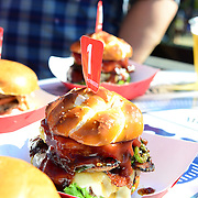 PHILADELPHIA, PA - SEPTEMBER 04: View of the Kahuna Cowboy burger during the 2016 Budweiser Made in America Festival - Day 2 at Benjamin Franklin Parkway on September 4, 2016 in Philadelphia, Pennsylvania. (Photo by Lisa Lake/Getty Images for Anheuser-Busch)