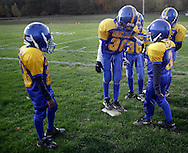 Salisbury Mills, New York - Woodlands plays Beacon in a high school football game on Oct. 16, 2010.
