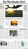 May 03, 2021 - USA: Front-page: Today's Newspapers In United States