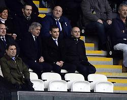 Tottenham Hotspur Chairman, Daniel Levy watches fromt he stand - Photo mandatory by-line: Joe Meredith/JMP - Tel: Mobile: 07966 386802 19/01/2014 - SPORT - FOOTBALL - Liberty Stadium - Swansea - Swansea City v Tottenham Hotspur - Barclays Premier League