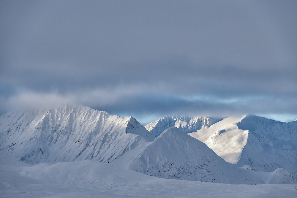 The Great White North. The St Elias Mountains in the Yukon