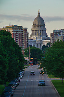 Wisconsin State Capitol & Washington Avenue