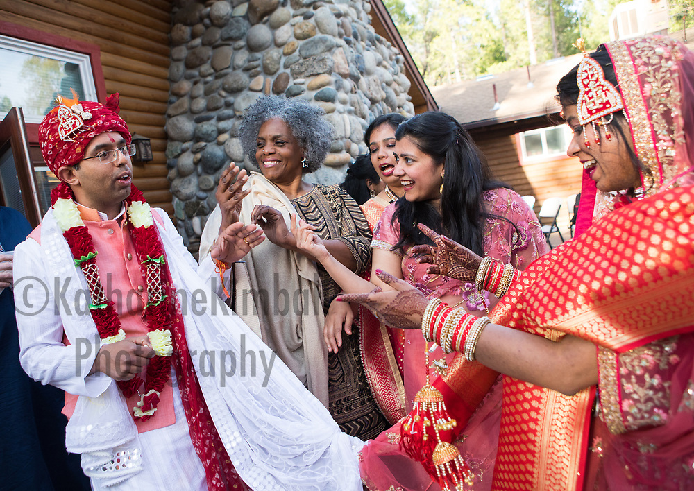 Wedding at The Redwoods in Yosemite National Park.