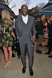 PICTURE SHOWS:-OZWALD BOATENG.<br /> Tuesday 14th April 2015 saw a host of London influencers and VIP faces gather together to celebrate the launch of The Ivy Chelsea Garden. Live entertainment was provided by jazz-trio The Blind Tigers, whilst guests enjoyed Moët & Chandon Champagne, alongside a series of delicious canapés created by the restaurant's Executive Chef, Sean Burbidge.<br /> The evening showcased The Ivy Chelsea Garden to two hundred VIPs and Chelsea<br /> residents, inviting guests to preview the restaurant and gardens which marry<br /> approachable sophistication and familiar luxury with an underlying feeling of glamour and theatre. The Ivy Chelsea Garden's interiors have been designed by Martin Brudnizki Design Studio, and cleverly combine vintage with luxury, resulting in a space that is both alluring and down-to-earth.