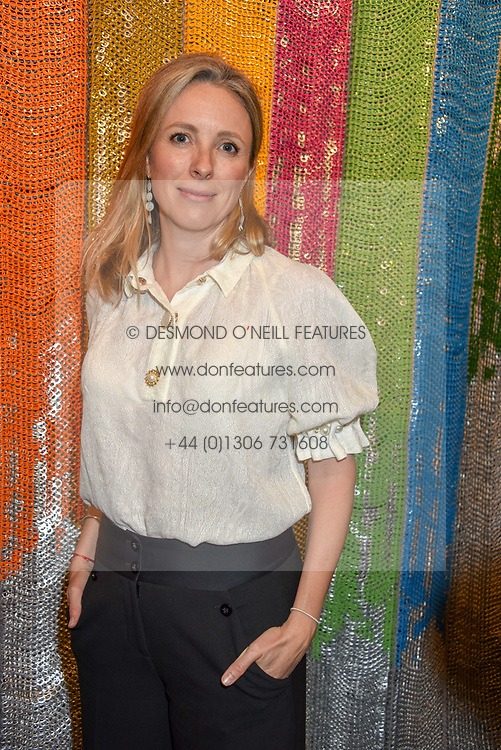 Stephanie Phair at a cocktail supper hosted by BOTTLETOP co-founders Cameron Saul & Oliver Wayman, along with Arizona Muse, Richard Curtis & Livia Firth to launch the #TOGETHERBAND campaign at The Quadrant Arcade on April 24, 2019 in London, England.<br /> <br /> ***For fees please contact us prior to publication***