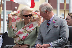 The Prince of Wales and the Duchess of Cornwall attend an official welcome ceremony at Nunavut Legislative Assembly in Iqaluit, the capital city of the Canadian territory of Nunavut, at the start of their visit to Canada.
