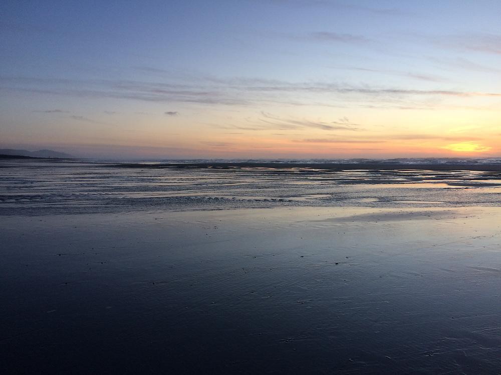 beach scenes at Twin Rocks Beach, / Rockaway beach near Rockaway oregon