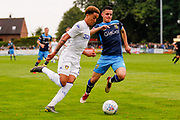 Leeds United Helder Costa (17)  during the Pre-Season Friendly match between Tadcaster Albion and Leeds United at i2i Stadium, Tadcaster, United Kingdom on 17 July 2019.