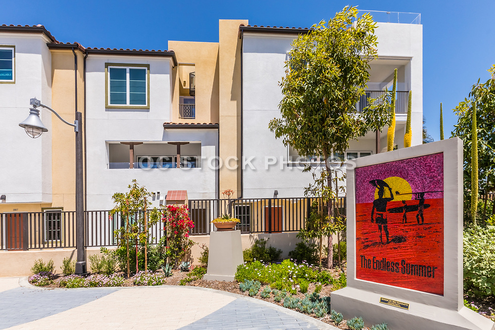The Endless Summer Mosaic Wall Art in Dana Point at the New South Cove Development